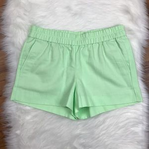 NWT J. Crew Factory Mint Boardwalk Pull-On Shorts
